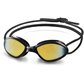 Head Tiger Race Mid Mirrored Goggles, black/smoke